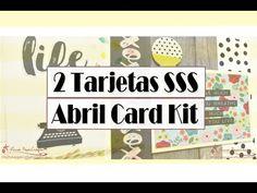 2 Tarjetas con el kit de Abril de SSS