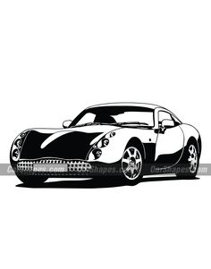 2003 TVR TUSCAN Vector Car Vector, Vector Illustrations, Laser Engraving, Tattoo, Cars, Prints, Vehicles, Autos, Tattoos