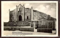SAN GERMAN - Oldest Church in the Island - Have Type I unused & II used 1937