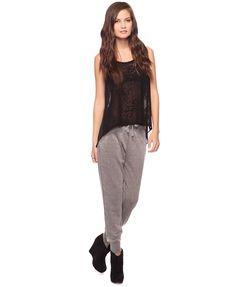 Soft Burnout Sweatpants  $17.80