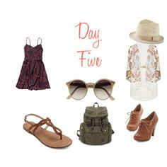 Day Five by sara1096 on Polyvore featuring polyvore fashion style Abercrombie & Fitch Topshop Ray-Ban Lilly Pulitzer Express