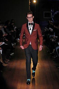 Michael Bastian Fall 2014 Menswear Collection Slideshow on Style.com