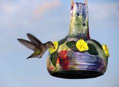 Hummingbird Feeder by potterri on Etsy, $36.00