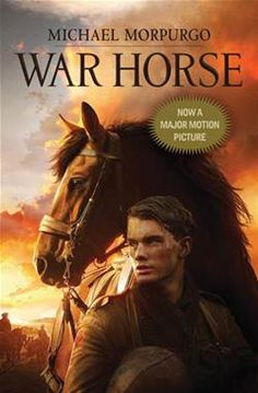 After seeing the movie, I had to read the book. I loved the movie, but the book was much better, as always. In grade school, I read all of the horse and dog stories. This one was modern, more graphic and interesting view of WWI from the horse's view.   http://www.amazon.com/War-Horse-Movie-Michael-Morpurgo/dp/0545403359/ref=sr_1_1?s=books=UTF8=1343056855=1-1=war+horse