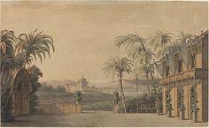 Karl Ferdinand Langhans, 'Turkish Stage Design,' 1815, National Gallery of Art, Washington D.C.