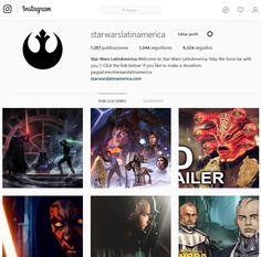 Visit Star Wars LatinAmerica Social Networks !!!