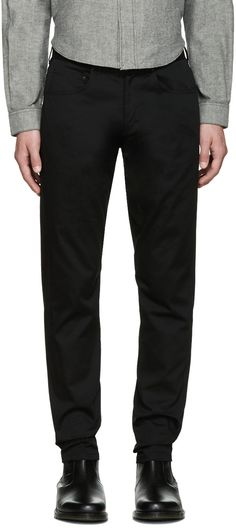 ALEXANDER WANG Black Tailored Trousers. #alexanderwang #cloth #trousers