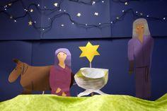 Jouluevankeliumi (nykyversio + käsinukkekuvitus). Religion, Bible, Teaching, School, Christmas, Decor, Biblia, Xmas, Decoration