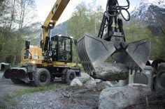 Caterpillar M318F, M320F Wheeled Excavators | Construction Equipment