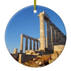 Temple of Poseidon - Sounio Ornaments