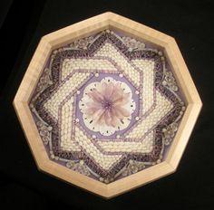 "Mosaic Seashell Art Sailors Valentine One of A Kind 8"" Octagon Shadowbox | eBay"