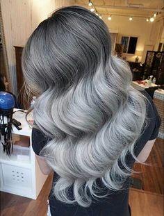 #hair #longhair #greyHair