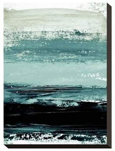 Art.com Abstract Minimalist Landscape 4 by Iris Lehnhardt Stretched Canvas Print