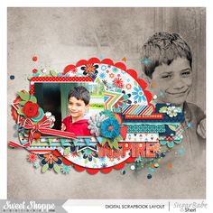 Digital Scrapbook page by SeattleSheri using Doing Good by Misty Cato and Meghan Mullens