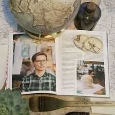 """""""When you just want to be a globe-maker & you get sidelined into modelling  ......... Zwykłe Życie, photo series by @kasia.bobula. The magazine is…"""""""