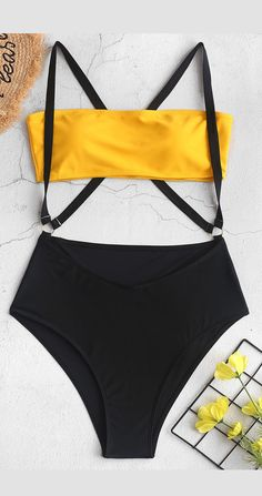 2020 Women Swimsuits Bikini Plus Size Knickers Swimsuit Stores Near Me Black Swimsuit With Belt White Bride Swimsuit Tankini Swimsuits For Women, Cute Swimsuits, Two Piece Swimsuits, Bikini Swimwear, Teen Bikinis, Vintage Swimsuits, Bandeau Bikini, Bikini Girls, Summer Bathing Suits