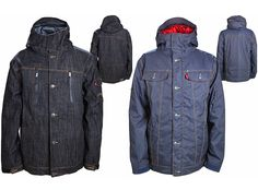 Levis Denim Snowboard wear