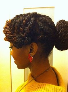 Nice protective style. A must try for me, this winter!