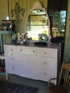 Antoinette pink dresser at The Shabby Cottage