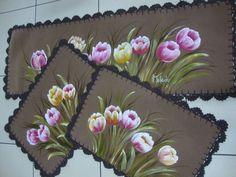 Resultado de imagen para riscos pintura em tecido jogo de banheiro emborrachado