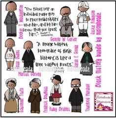 Black history bundle by melonheadz by melonheadzdoodles on Etsy