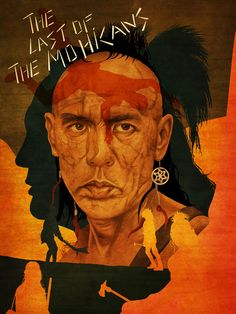 The Last of the Mohicans - movie poster - David Amblard