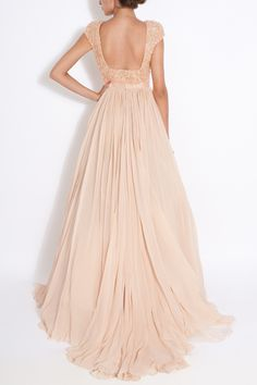 gorgeous soft pink gown  #rose #wedding
