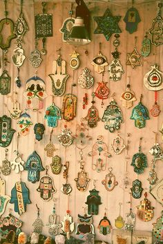Hamsa wall...these should all be mine <3