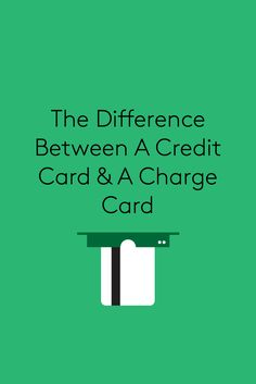Why You Should Never, Ever Use A Debit Card #refinery29  http://www.refinery29.com/how-to-use-a-credit-card#slide-13  I didn't realize there was a difference between credit and charge cards until Priya and I started working on this story. My grandmother referred to her Neiman Marcus store card as a charge card, and I assumed she was just being old-fashioned and Southern. I was wrong. As Priya explains it, charge cards help you build credit, but you're required to pay the balance in full…