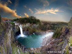 Snoqualmie Falls Park..  6501 Railroad Ave SE  Snoqualmie, Washington, 98024..   near Seattle..