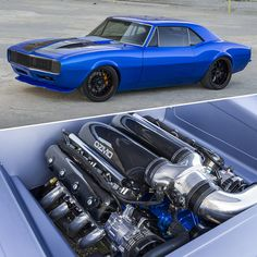 Best classic cars and more! Muscle Cars Vintage, Custom Muscle Cars, Chevy Muscle Cars, Custom Cars, Vintage Cars, Chevrolet Camaro, Camaro Car, Lifted Ford Trucks, Sweet Cars