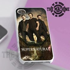 Supernatural Series 8 - iPhone 4/4s/5 Case - Samsung Galaxy S3/S4 Case - Black or White by THEMACHINEV8 on Etsy