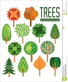 illustration trees