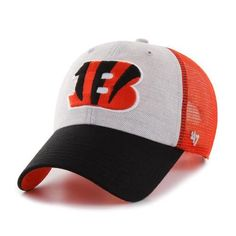 Belmont '47 Brand Clean Up Cincinnati Bengals Trucker Hat