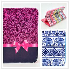 $9.90 (Buy here: http://appdeal.ru/8kc6 ) Cases For Samsung Galaxy Tab 2 7.0 Inch Flip PU Leather Stand Case P3100 P3110 Cute Flower Lovely Tablet PC Cover Free Shipping for just $9.90
