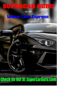 2311b6583e50 SuperCar Guru was founded as a place where people can come to learn more  about luxury