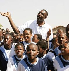 Dikembe Mutombo founded the Dikembe Mutombo Foundation in 1997 to improve the lives of people in his native Democratic Republic of Congo. SInce 2001 he has donated at least 15 million dollars to build a hospital in his hometown of Kinshasa.
