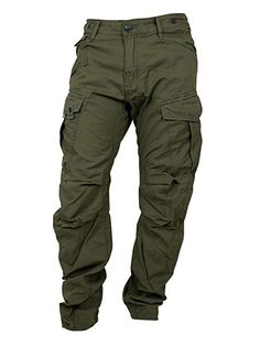 G-Star Mens Rovic Loose Tapered, Magma / Green Tactical Wear, Tactical Pants, Tactical Clothing, G Star Men, Star G, Mens Cargo Jeans, Military Fashion, Mens Fashion, Mens Work Pants