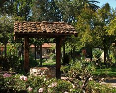 Mission San Luis Obispo de Tolosa Gardens-Ceremony site