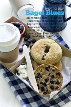 Gluten-Free Vegan Blueberry Bagels