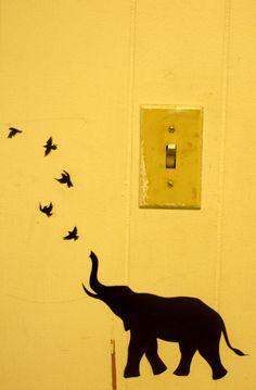 Elephant Stencil, Stencils, Cartoon, Drawings, Diy, Crafts, Inspiration, Drawing Ideas, Addiction