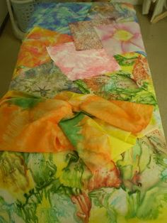 Ombro Amigo: Curso de pintura em seda