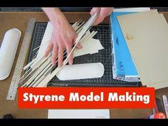 Styrene Tutorial Guide(Part 1): basic intro to plastic model making, modeling…