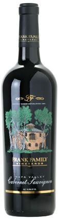 2008 Frank Family Cabernet Sauvignon - 90 PTS WINE SPECTATOR. The '08 Frank Family Vineyards Cabernet is supple-textured, with ripe plum, cherry and currant notes that are open-knit and easy-drinking; drink now through 2018.