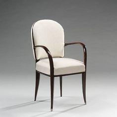 """Emile Jacques Ruhlmann, Armlehnstuhl """"Salonicol"""" / """"Salonicol"""" armchair,  1933"""