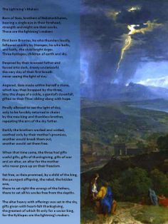 The Lightning's Makers Pagan Poetry, Wiccan Crafts, Prayer Book, Paganism, Occult, Lightning, Worship, Greece, Prayers