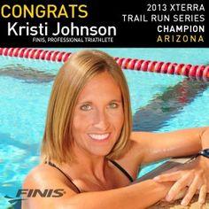 Kristi Johnson shares her open water training tips! #tri #finis20