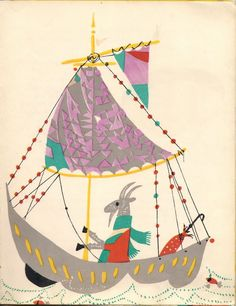 Pampilio by Irena Tuwim, Illustrated by Ignacy Witz, Poland, in 1962.