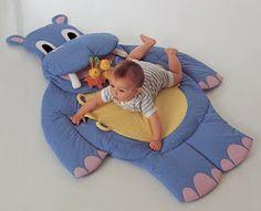 Vancrisk Arteira=): Tapete Hipopótamo para o baby