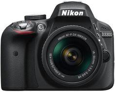 Nikon+D3300+24.2MP+Digital+SLR+Camera+Black+with+AF-P+DX+NIKKOR+18-55mm+f/3.5-5.6G+ED+VR+Lens+-+PriceBaazar